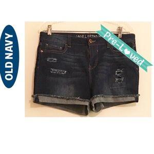 Old Navy Sz 13 Vanilla Star Shorts